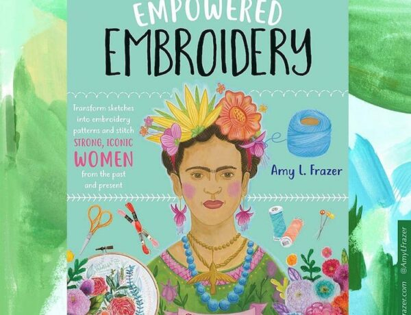 'Empowered Embroidery' book cover
