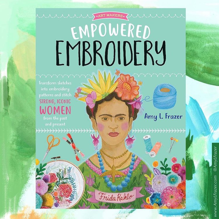Learn How to Stitch Amazing Women With This Step-by-Step Embroidery Book