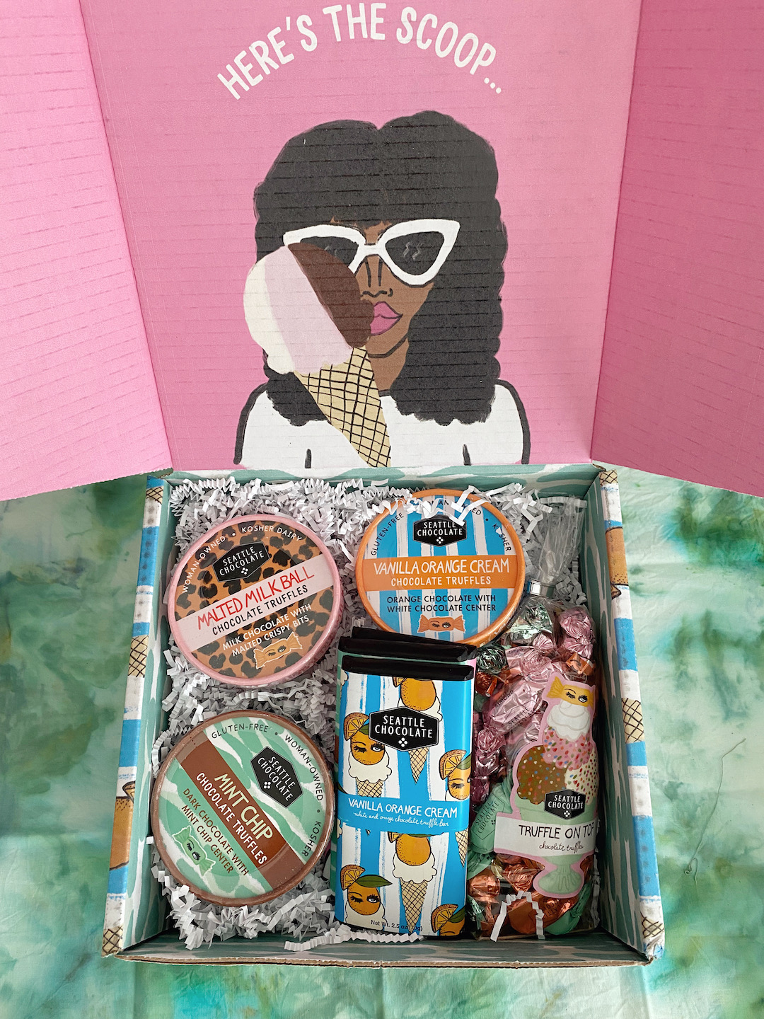 Illustrative Packaging Perfectly Complements Summer Sweets by Seattle Chocolate