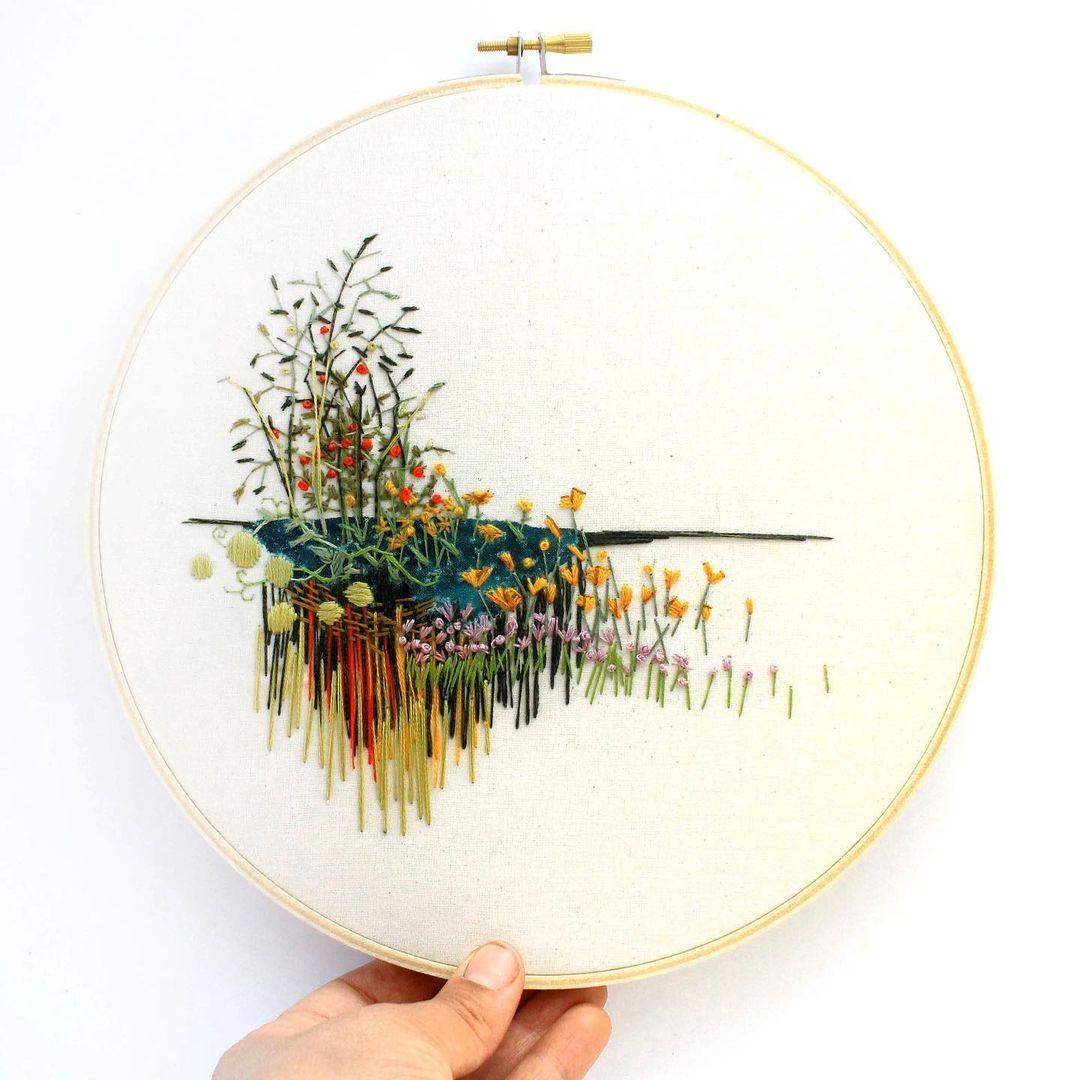 Hoop Art by Anna Hultin