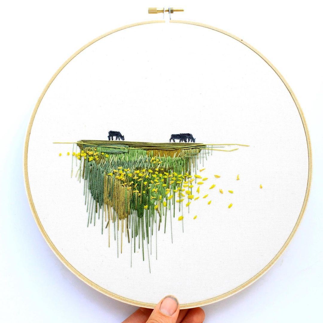 Embroidery by Anna Hultin