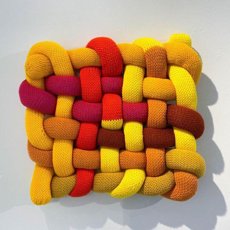 Fiber art by Kat Sanchez Stanfield