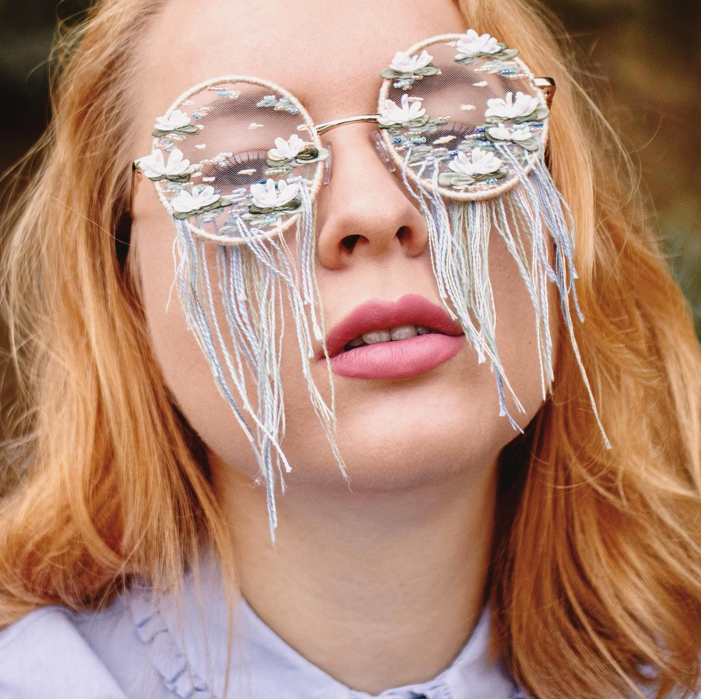 Take a Peek At How Amazing These Embroidered Glasses Are